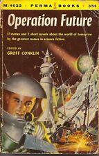 OPERATION FUTURE PAPERBACK PERMA BOOKS 1955