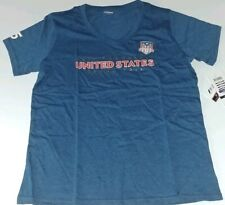 Formula 1 United States Grand Prix COTA Womens Crest V-Neck Tee NWT X-Small 2234
