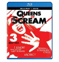 Queens of Scream - Triple Feature Blu-ray + DVD Combo