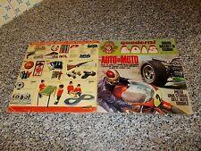 ALBUM AUTO E MOTO EDIS 1968 OTTIMO COMPLETO+NOSTRI IDOLI COMPLETI+CEDOLA+BEATLES