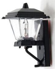 Dollhouse Miniatures 1:12 Scale Black Coach Lamp, Non-Working #Mh628Nw