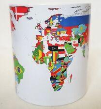 World Map - Geography - Countries - Coffee Tea MUG CUP - MUGS - Gifts
