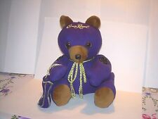 Unique Handmade CROWN ROYAL BEAR with Shopping Bag - NEW