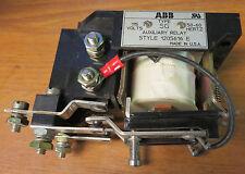 ABB 12205616 Auxiliary Relay 120 Volt Coil