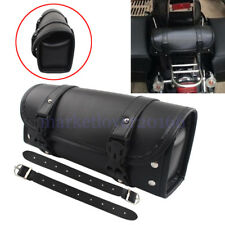 Motorcycle Waterproof Tool Bag Luggage Saddlebag Roll Barrel Storage for Harley