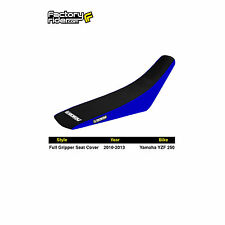 2003-2005 YAMAHA YZF 250-450 Blue/Black FULL GRIPPER SEAT COVER BY Enjoy MFG