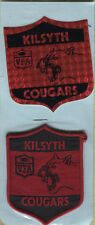 VFA  KILSYTH / COUGARS  PATCH/BADGE PLUS STICK ON OF THE SAME SIZE 9mm x 7mm