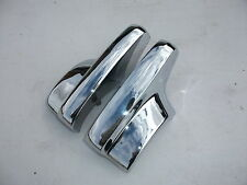 RECHROMED REAR BUMPER BAR OVER RIDERS SUITS FX 48-215 HOLDEN SQUARE TYPE