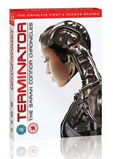 Terminator: The Sarah Connor Chronicles Season 1 & 2 (9 Discs) (DVD) (C-15)