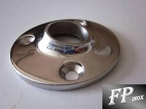 Embase ronde à souder 25mm 60° Inox 316 Ref EM782