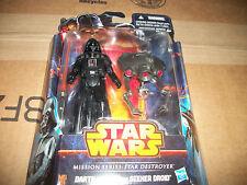 Star Wars 2 pack Mission Series Star Destroyer Darth Vader Seeker Droid  New