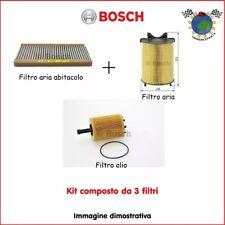 Kit 3 filtri tagliando Bosch CHRYSLER VOYAGER IV IV