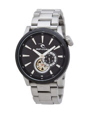 RIP CURL WATCH RECON AUTOMATIC SSS BLACK A2882 Mens 44mm Surf New RRP$599.99