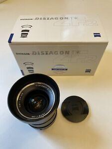 Zeiss Distagon 35mm f2 ZF.2