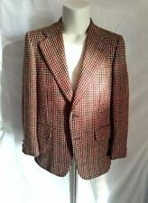 Tweed Blazers Two Button Suits & Tailoring Check for Men