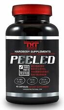 PEELED Thermogenic FAT BURNER and Diet Pill for Men and Women.Boost Metabolism