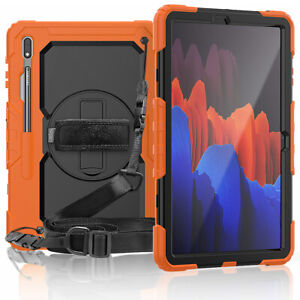For Samsung Galaxy Tab S7 / S7 Plus 2020 Shockproof Stand Full Cover Tablet Case