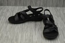 **Collections by Clarks Saylie Moon Sandals, Women's Size 9.5 W, Navy