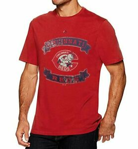 New Cooperstown Collection, Big & Tall Vintage MLB Cincinnati Reds T-Shirt