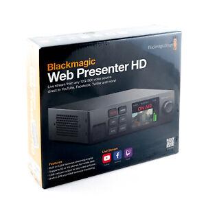 Blackmagic Design Web Presenter HD - H.264 Video Streaming Encoder with 3G SDI