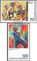 BRD (BR.Deutschland) 822-823 (kompl.Ausgabe) gestempelt 1974 Expressionismus