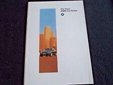 1997 BMW 528i 540i German E39 Brochure 5 Series 535i 525 tds Sedan Sales Catalog