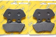 FRONT REAR BRAKE PADS fits HARLEY DAVIDSON Fat Boy Softail 2005-07' FLSTF FLSTFi
