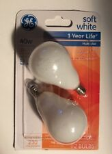 GE 76582 Soft White 40W 2(Bulbs)
