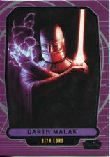 Star Wars Galactic Files Series 1 Base Card #186 Darth Malak