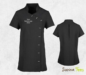 Personalised Premier Ladies Orchid Short Sleeve Tunic Beauty & Spa Nail Massage