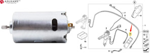 Convertible Top Roof Hydraulic Pump Motor for Volvo C70 2006-2013 OE#36011248