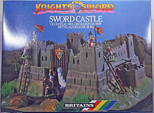 "Britains Deetail 7791 Sword Castle ""Knights of the Sword"" - mint in unopened MIB"