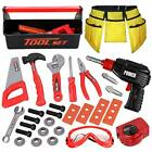 LOYO Kids Tool Set - Pretend Play Construction Toy with Tool Box Kids Tool Be...
