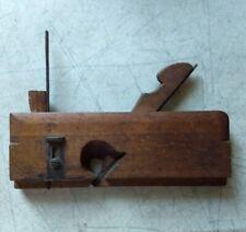 "vintage M CRANNELL 5/8"" dado plane  wood molding tool"