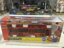 """JOAL COMPACT #155 Red Line Scania Bus AutoBus 1:50 Or 9.5"""" MIB DieCast Spain"""