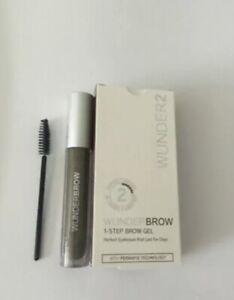 Wunderbrow Brow Gel Perfect Eyebrows In 2 Mins Brunette Wonderbrow