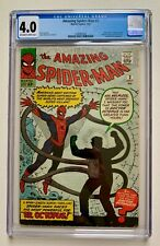 Amazing Spider-Man #3 CGC 4.0 (1963) ~1st Appearance of Doctor Octopus