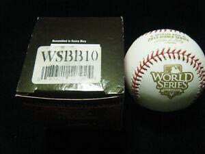 MLB 2010 World Series Rawlings SF Giants Champions baseball new in the box