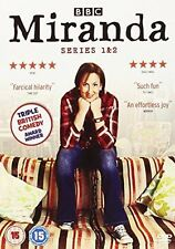 Miranda Series 1-2 Complete DVD, 2011, 2-Disc Set, Box Set. Great Condition