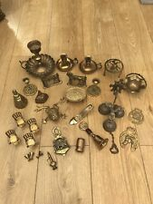More details for job lot of brass ware items