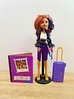 Monster High Clawdeen Wolf Sweet 1600 Purple Luggage Bag Doll Figure
