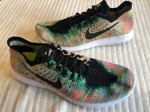 Mens Nike Free Run Flyknit Trainers Size Uk 11.5