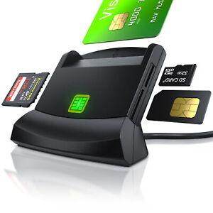 CSL Cardreader USB 2.0 Chipkartenleser smart card reader - Smart Cards und Sim