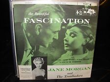 "JANE MORGAN fascination ( jazz ) 7""/45 picture sleeve"