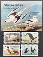 Antigua & Barbuda. Birds, John J. Audubon. SG924/27. 1985. MNH. (MSC619)