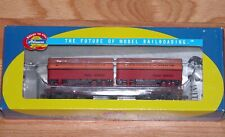 ATHEARN 92371 50' FLAT CAR WITH TWO 25' TRAILERS SOUTHERN PACIFIC SP 563077