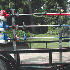 Rack 'Em 3 Place Open Trimmer Rack Open Trailers RA-6