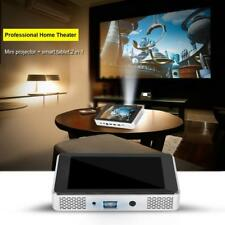 Tablet Proiettore 2 in 1 Mini Theater Per casa HDMI HD 3D Bluetooth WIFI nero