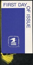 UNITED STATES 1974 OFFICIAL USPS FOLDER WITH STAMPS FIRST DAY CANCELLED