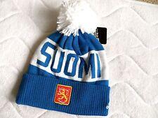 ADIDAS FINLAND ICE HOCKEY WORLD CUP TORONTO Canada BEANIE BOBBLE Toque SUOMI